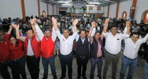 Militantes de PVEM, Morena y MC se suman a Jiménez Merino