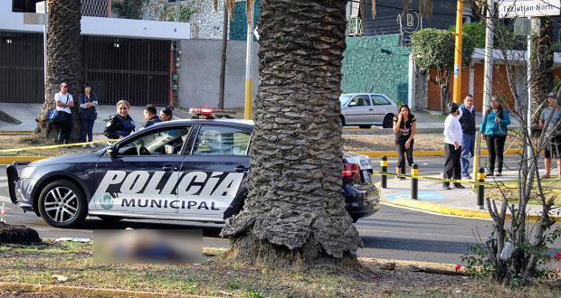 Mujer muere en camellón tras ser atropellada en colonia La Paz. Foto: EsImagen
