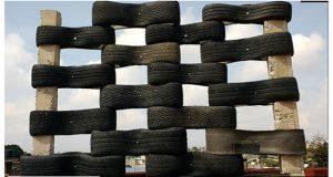 ONG invita a donarle llantas para reciclarlas y construir muros
