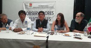 Organizaciones desplegarán 118 observadores en elección de Puebla