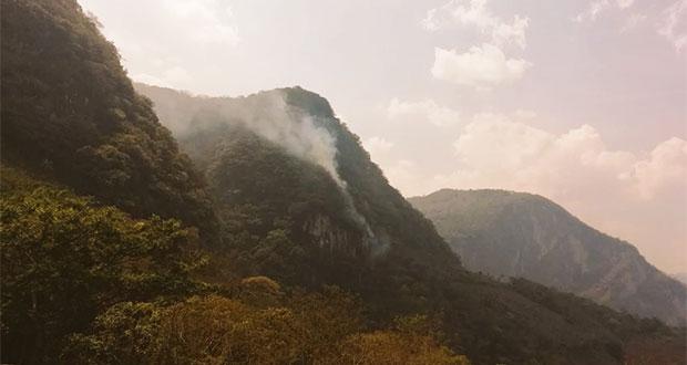 PC reporta 3 incendios forestales en 3 municipios de Puebla
