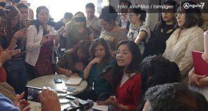 Periodistas de Puebla acusan agresiones y exigen condiciones para su labor