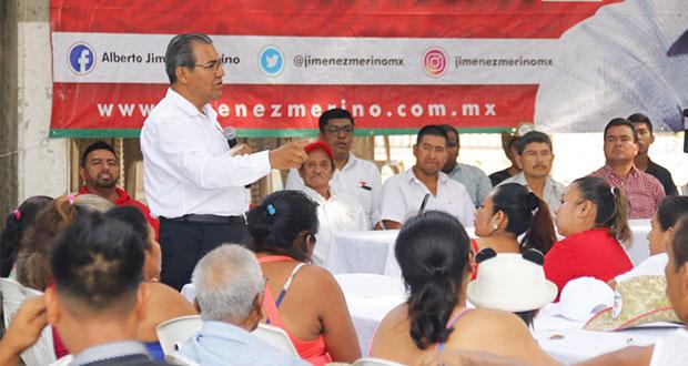 Plantea Jiménez rehacer la carretera interserrana para erradircar robos