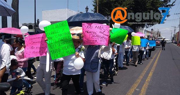 Pobladores de El Seco se manifiestan para exigir mayor seguridad