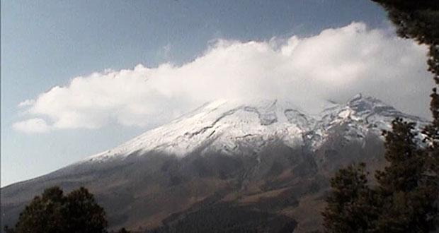 Con 21 exhalaciones, Popocatépetl mantiene mínima actividad: PC
