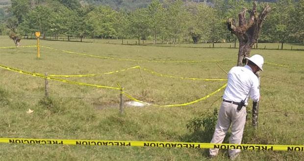 Protección Civil estatal controla toma clandestina en Xicotepec