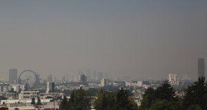 Puebla se tiñe de gris por contaminación ambiental