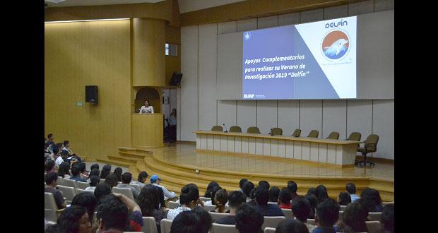 Realizarán 404 alumnos de BUAP estancias de investigación científica