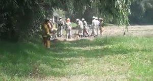 Reportan fuga de gas LP en Coronango; PC y bomberos ya la atienden