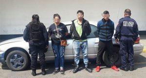 Rescatan a mujer e hijo secuestrados en Caleras; hay 3 detenidos