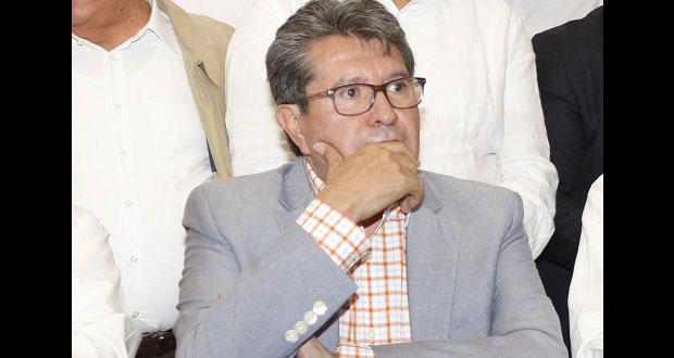 Apoyo a Barbosa sin interés en dirigencia nacional de Morena: Monreal