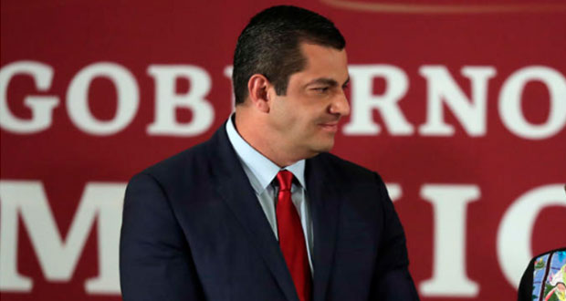 Ricardo Peralta sustituye a Robledo en subsecretaría de Gobernación