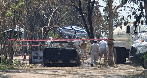 Toma clandestina en ducto de Pemex causa incendio en Chiapas