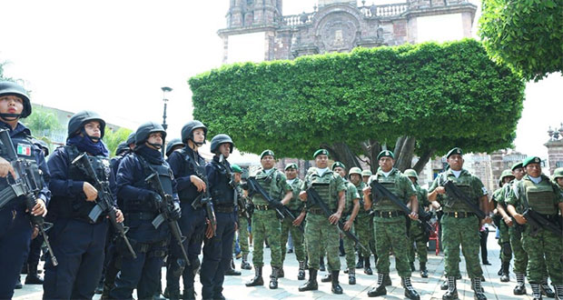 Tras asesinato de 4 policías, Michoacán refuerza seguridad en Zamora
