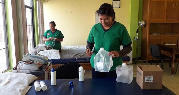 UBR de Ixcaquixtla ofrece a población servicios terapéuticos
