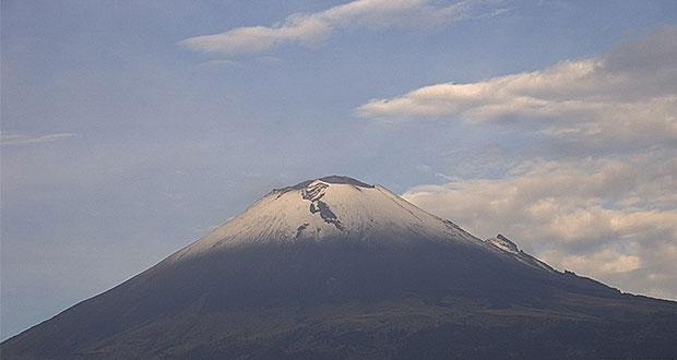 Popocatépetl registra 85 exhalaciones con vapor de agua y gas: PC