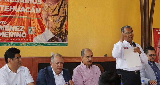 Plantea Jiménez Merino crear una fiscalía especializada en Tehuacán