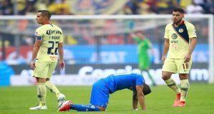 América vence otra vez a Cruz Azul y Necaxa sorprende a Monterrey