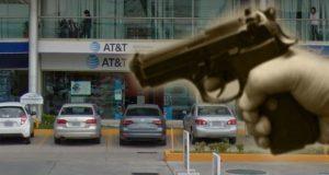 En pocas horas, asaltan sucursal de AT&T y Coppel en Puebla capital