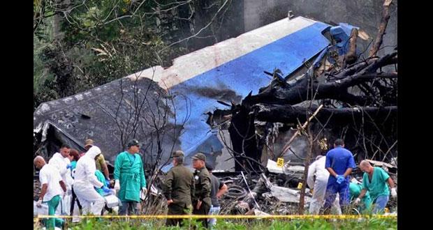 Interponen demanda por avionazo que mató a 112 en Cuba en 2018