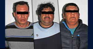 Municipales desarticulan banda posiblemente dedicada al robo