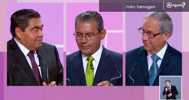 En debate por gubernatura, sobresalen más acusaciones que propuestas. Foto: EsImagen