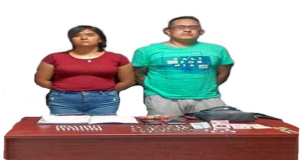Dos son detenidos con 107 dosis de droga en Bosques de San Sebastián