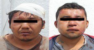 Detienen a hombre por tentativa de homicidio y a otro por robo