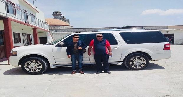 Detienen en Tepeaca a dos personas por robar camioneta en 2017