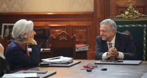 AMLO y directora del FMI coinciden en combatir pobreza y corrupción