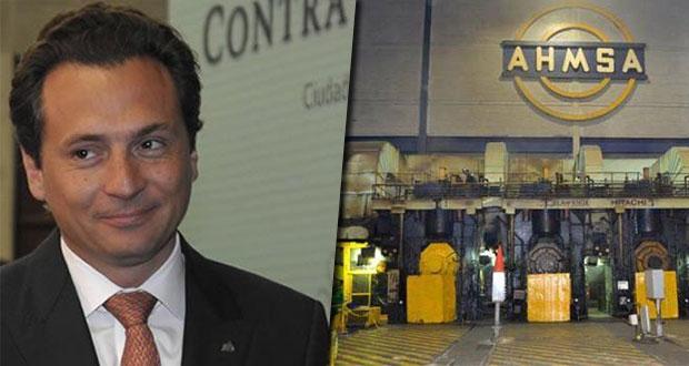 SHCP bloquea cuentas bancarias de Lozoya y Altos Hornos de México