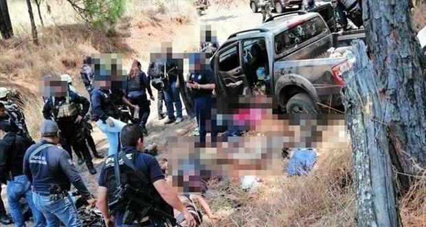 Enfrentamiento armado en Uruapan, Michoacán, deja 9 muertos: FGE