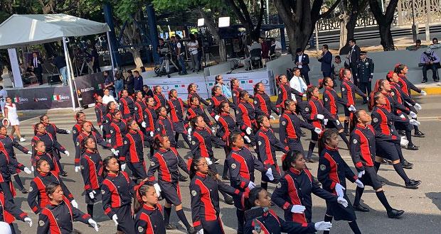 SSP reporta saldo blanco tras desfile cívico-militar del 5 de Mayo