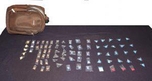 Cuatro hombres y una mujer son detenidos por robo y narcotráfico
