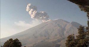 Volcán Popocatépetl emite dos explosiones; caería ceniza en Puebla