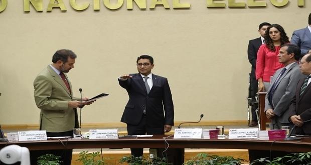 INE designa a George Zamora titular del Órgano Interno de Control