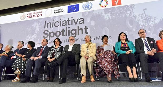 Conoce la iniciativa Spotlight de la Federación contra feminicidio
