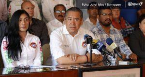 Por vínculos con Marín, CTM no apoya a Jiménez Merino, justifica Leobardo Soto
