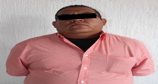 Por supuesto robo a negocio, detienen a hombre en CH de Puebla