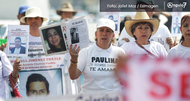 No tenemos nada qué festejar, claman madres de desaparecidos en Puebla