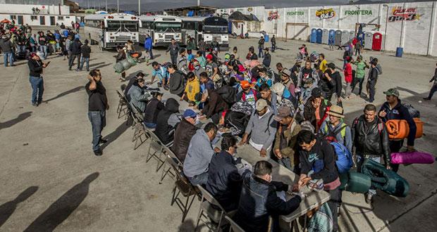 EU construirá albergue para 7 mil migrantes en frontera con México