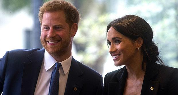 Anuncian el nacimiento del hijo del príncipe Harry y Meghan Markle