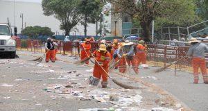 Tras desfile del 5 de Mayo, OOSL recolecta 36 toneladas de basura