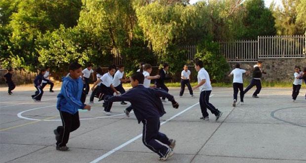Escuelas de Puebla deben evitar actividades físicas, reitera SEP