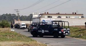 Ejército y Federales hacen operativo contra huachicol en Xoxtla
