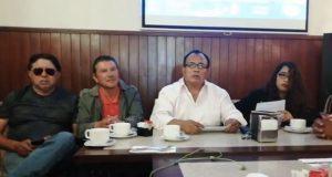 En Puebla, perredistas llaman a votar por Miguel Barbosa