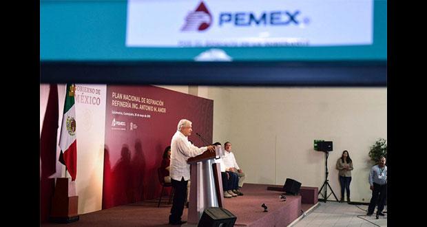 Firmaré decreto para reducir impuestos que exprimían a Pemex: AMLO