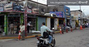 Comerciantes de la 46 Poniente acusan que delincuentes cobran derecho de piso