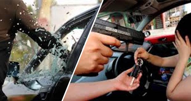 A nivel nacional, el estado y Puebla capital, 4° en robo de autos asegurados