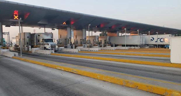 Tras 11 horas, se regulariza circulación en casetas de San Martín
